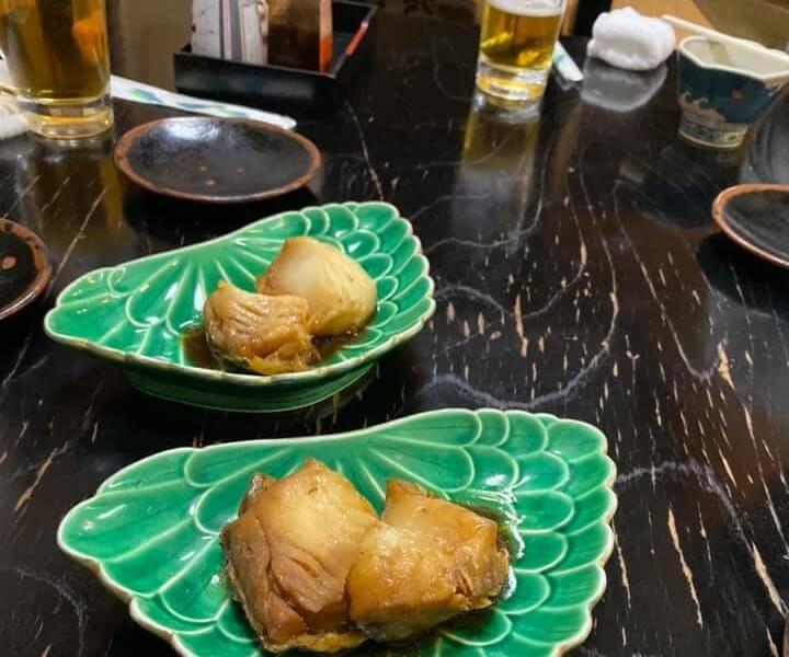 はしご酒、吉井川のおかず